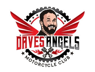Daves Angels logo design by invento
