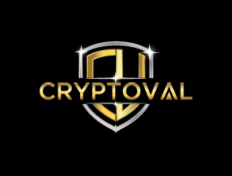 CryptoVal logo design
