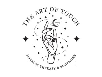 The Art of Touch Massage Therapy & Bodywork logo design