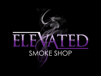 Elevated Smoke Shop  logo design