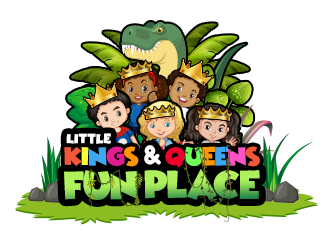 Little Kings  & Queens Fun Place logo design