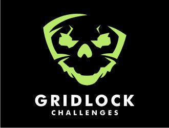 GRIDLOCK Challenges  logo design