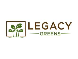 Legacy Greens logo design winner