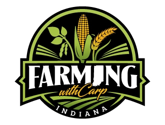 FarmingwithCarp logo design