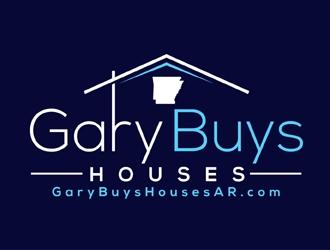 Gary Buys Houses (email is garybuyshousesar.com)  logo design
