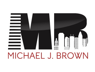 Michael J. Brown (Real Estate Team) logo design