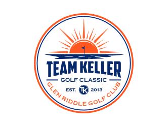 TEAM KELLER GOLF CLASSIC logo design