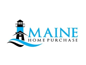 Maine Home Purchase logo design
