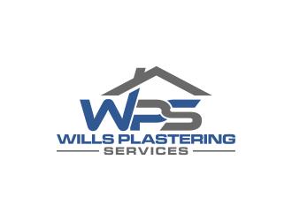 Wills Plastering Services logo design