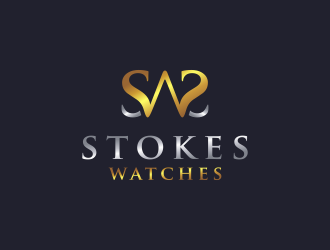Stokes Watches logo design