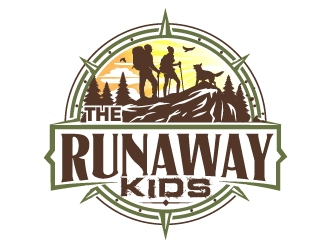 The Runaway Kids logo design