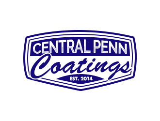 Central Penn Coatings logo design
