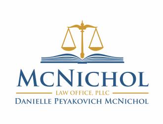 McNichol Law Office, PLLC - Law Office of Danielle Peyakovich McNichol logo design