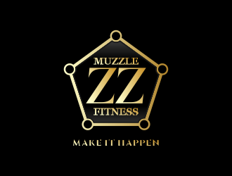 Muzzle Fitness by Mr Muzzles logo design