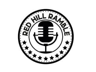 Red Hill Ramble logo design