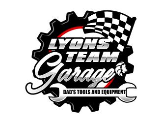 Lyons Team Garage logo design by Ultimatum