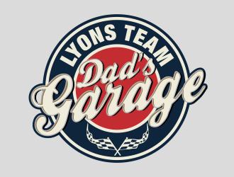 Lyons Team Garage logo design by bosbejo