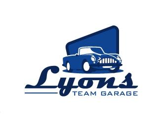 Lyons Team Garage logo design by Kirito