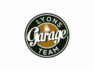 Lyons Team Garage logo design by menanagan