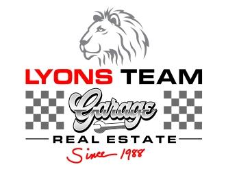 Lyons Team Garage logo design by aura