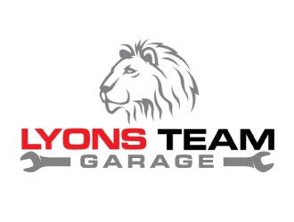 Lyons Team Garage logo design by daywalker