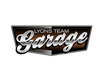 Lyons Team Garage logo design by kunejo