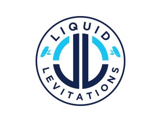 Liquid Levitations logo design
