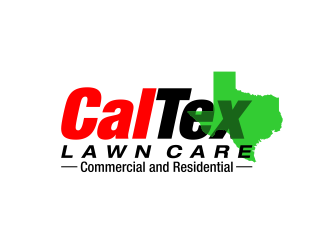 CalTex Lawn Care - Commercial and Residential logo design
