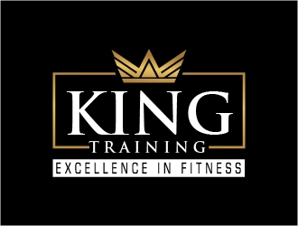 KING TRAINING logo design
