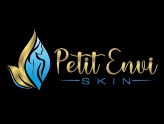 Petit Envi Skin logo design