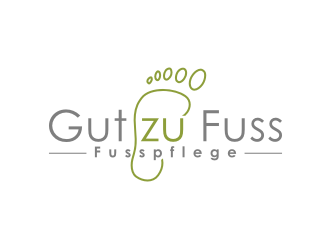 Gut zu Fuss logo design