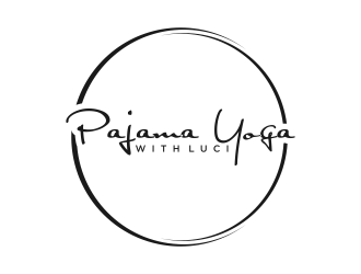 Pajama Yoga with Luci Logo Design
