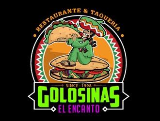 Golosinas El Encanto logo design