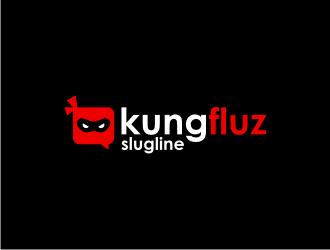 kungfluz logo design