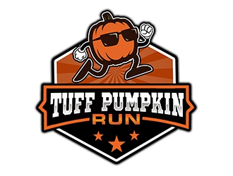 Tuff Pumpkin Run logo design