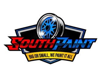 South Paint logo design