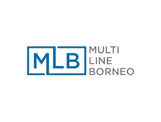 MLB - Multi Line Borneo logo design