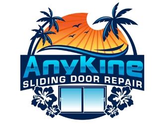 AnyKine Sliding Door Repair  logo design