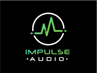 Impulse Audio logo design