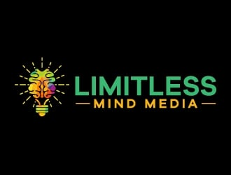 Limitless Mind Media Logo Design