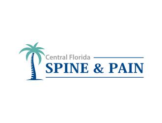 Central Florida Spine & Pain logo design