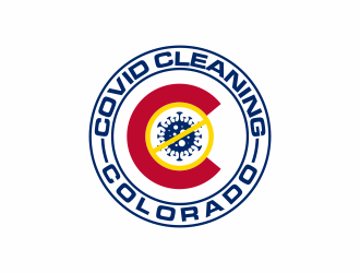 Covid Cleaning of Colorado logo design