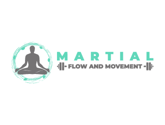 Martial Flow and Movement  Logo Design