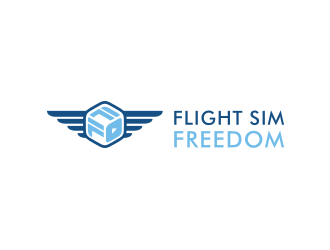Flight Sim Freedom logo design