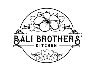 Bali Brothers' Kitchen logo design by emberdezign