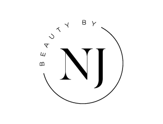 BEAUTY BY NJ logo design