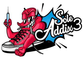 Sole Addix3 logo design by Suvendu