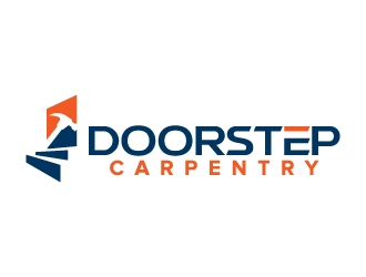 Doorstep Carpentry logo design