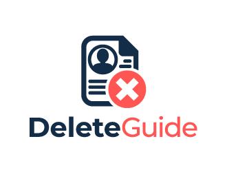 DeleteGuide logo design