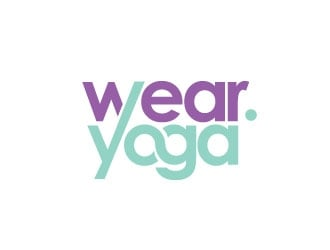 Wear.Yoga logo design
